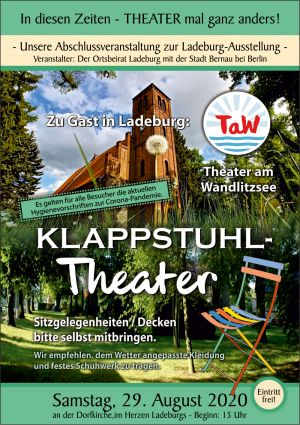 Klappstuhltheater in Ladeburg